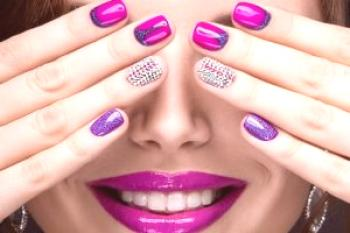 Hermosa pedicura y manicura 2018-2019 - foto, moda manicura pedicura - ideas