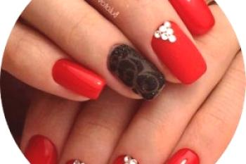 Manicure Voil: New Designs (50 fotos)